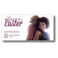Wonder of Easter XLarge Postcard