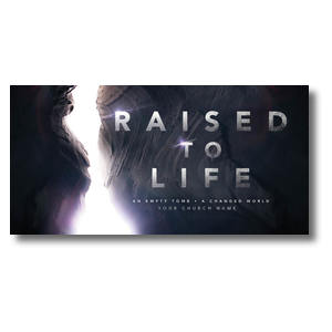 Raised to Life XLarge Postcards