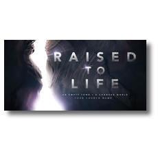 Raised to Life XLarge Postcard