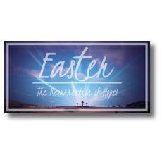 Resurrection of Hope XLarge Postcard