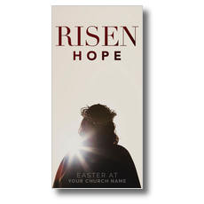 Risen Hope XLarge Postcard