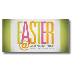 Easter At Bright XLarge Postcards
