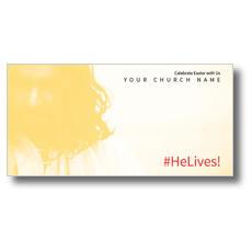 Hashtag HeLives XLarge Postcard