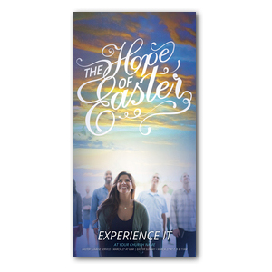 The Hope of Easter People XLarge Postcards