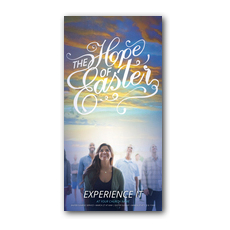 The Hope of Easter People XLarge Postcard