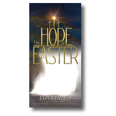 The Hope of Easter Empty Tomb XLarge Postcard