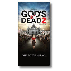 Gods Not Dead 2 Church Postcard