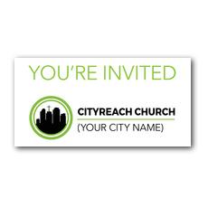 CityReach XLarge Postcard