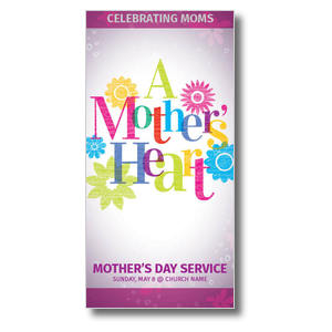 A Mothers Heart Church Postcards