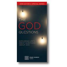 God Questions XLarge Postcard
