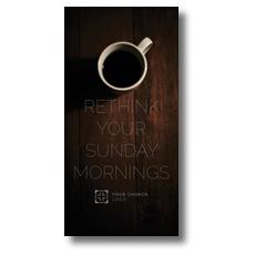 Sunday Morning Coffee XLarge Postcard