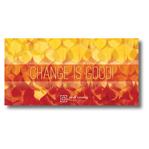 "Change Is Good 11"" x 5.5"" Oversized Postcards"