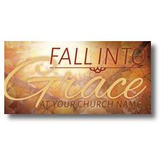 Fall Grace XLarge Postcard