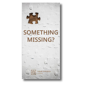 Something Missing XLarge Postcards