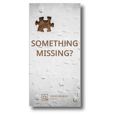 Something Missing XLarge Postcard