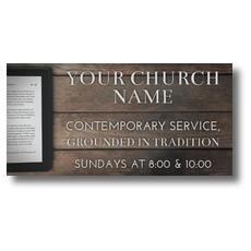 Tablet Bible XLarge Postcard
