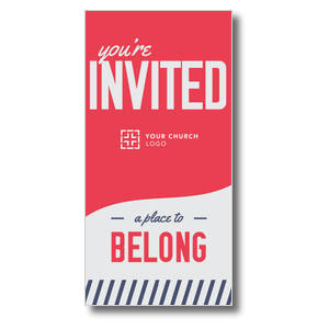 To Belong Red Church Postcards