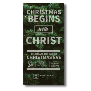 "Christmas Tree Event 11"" x 5.5"" Oversized Postcards"