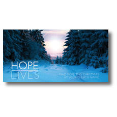 Hope Lives XLarge Postcard
