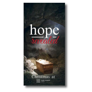 Hope Revealed Manger XLarge Postcards