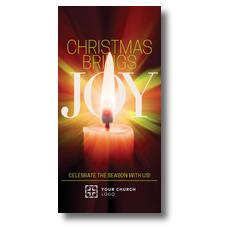 Joy Candle XLarge Postcard