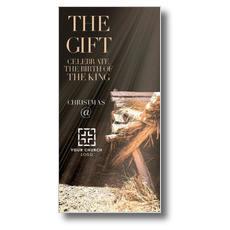 The Gift Manger XLarge Postcard