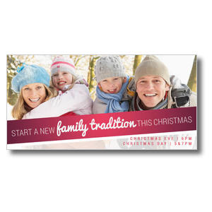 Family Tradition XLarge Postcards