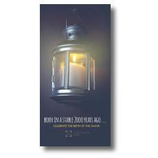 Lantern Candle XLarge Postcard