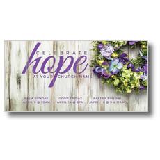 Celebrate Hope XLarge Postcard