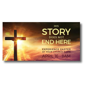 Cross Story XLarge Postcards