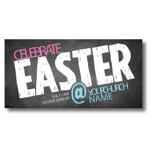 Easter At Chalk Church Postcards