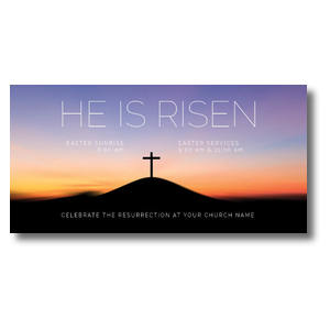 He Is Risen Sunrise Church Postcards
