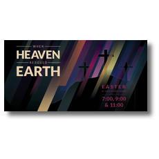 Heaven Rescued Earth XLarge Postcard