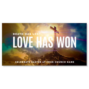 Love Has Won XLarge Postcards