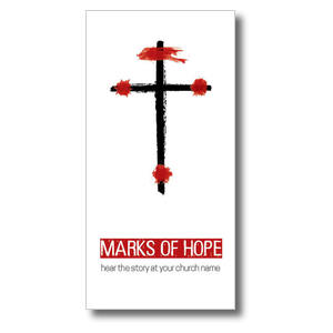 "Marks of Hope 11"" x 5.5"" Oversized Postcards"