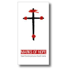 Marks of Hope XLarge Postcard