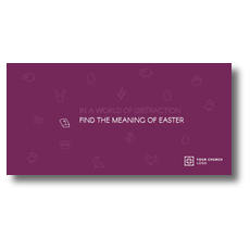 Meaning of Easter XLarge Postcard