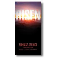 Mountain Risen XLarge Postcard