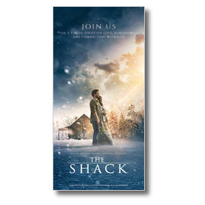 The Shack Movie Church Postcards