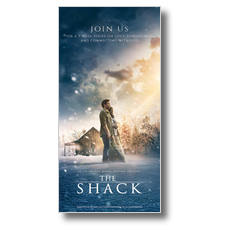 The Shack Movie XLarge Postcard