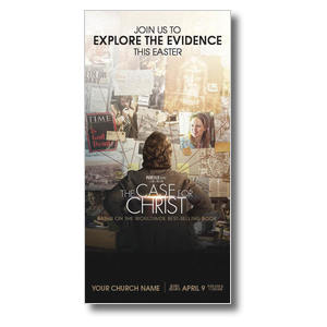 "The Case for Christ Movie 11"" x 5.5"" Oversized Postcards"