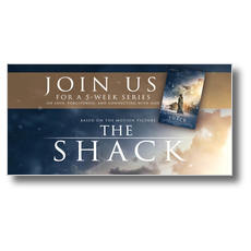 The Shack Movie Clouds XLarge Postcard