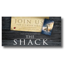The Shack Movie Ladybug XLarge Postcard