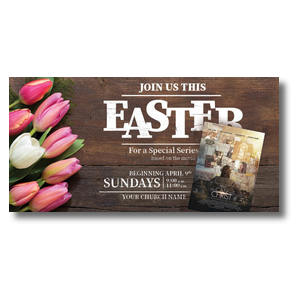 "The Case for Christ Easter 11"" x 5.5"" Oversized Postcards"