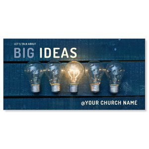 Big Ideas Church Postcards