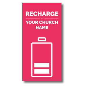 Recharge XLarge Postcards