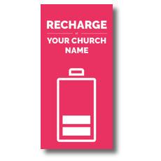 Recharge XLarge Postcard