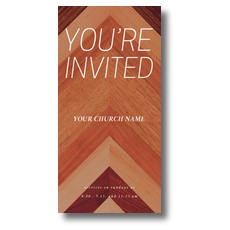 Wood Grain XLarge Postcard