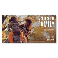 Church for Family Park XLarge Postcard