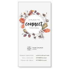 Connect Fall Wreath